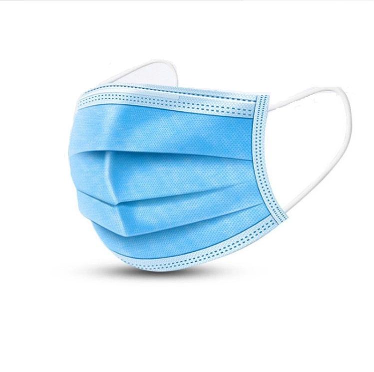 Mundnasenmaske OP-Maske hellblau