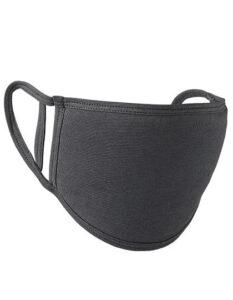 Premiumtex Mundnasenmaske flex aus Baumwolle im 5-er Pack dunkelgrau