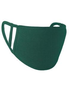 Premiumtex Mundnasenmaske flex aus Baumwolle im 5-er Pack grün