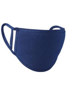 Premiumtex Mundnasenmaske flex aus Baumwolle im 5-er Pack navyblau