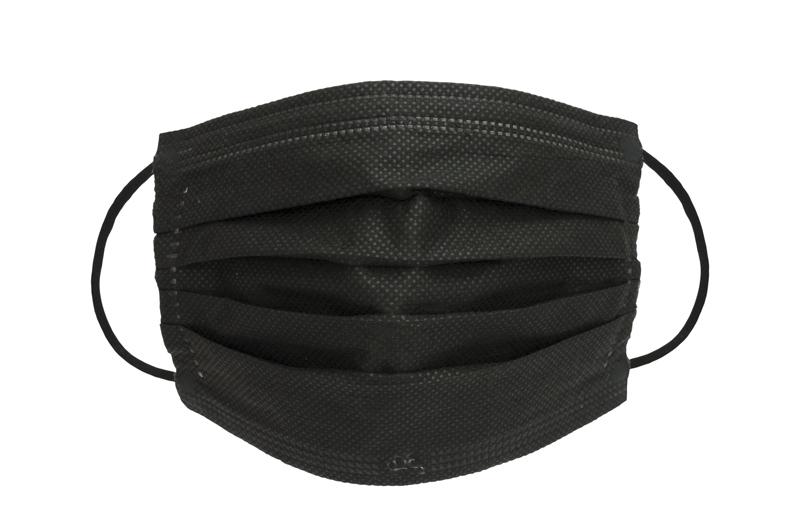Mundnasenmaske OP-Maske schwarz