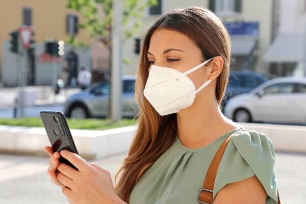 Schützen Sie sich und andere mit Premiumtex FFP2 Maske weiss