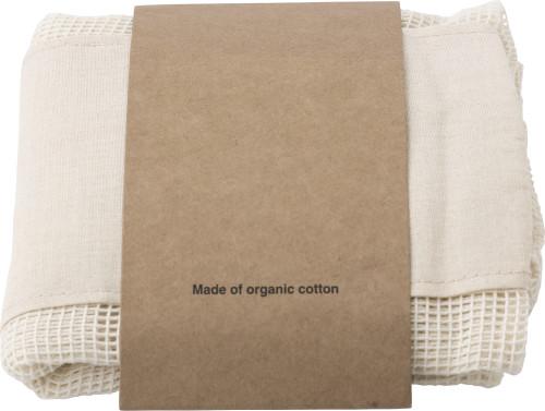 Premiumtex Einkaufstaschen aus Bio-Baumwolle im 3er-Set