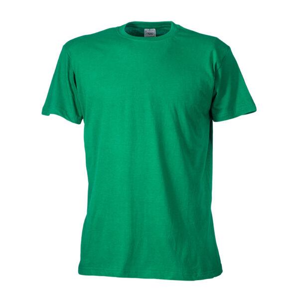 Baumwoll t-shirt 196247 in grün