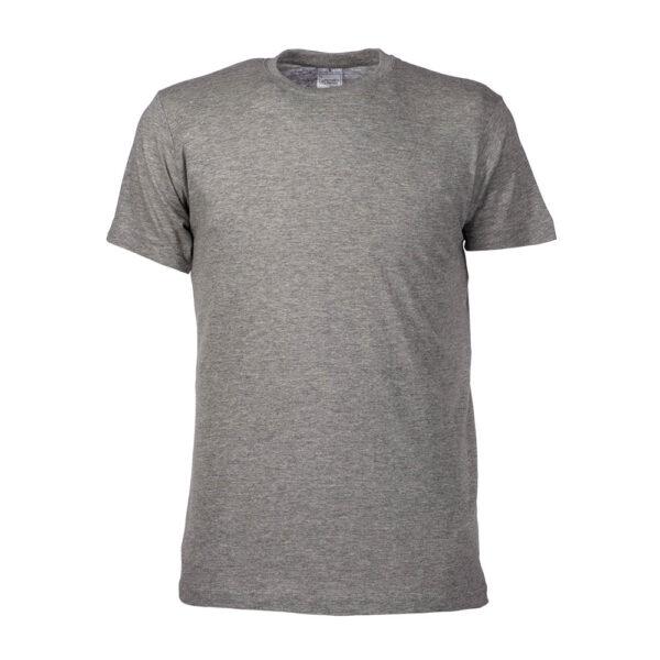 Baumwoll t-shirt 196247 in hellgrau