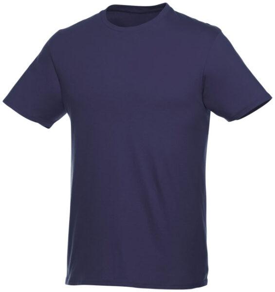 Baumwoll t-shirt 196247 in navyblau
