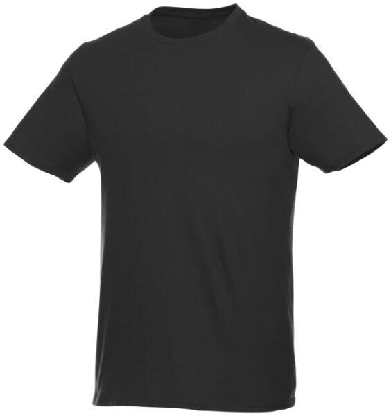 Baumwoll t-shirt 196247 in schwarz