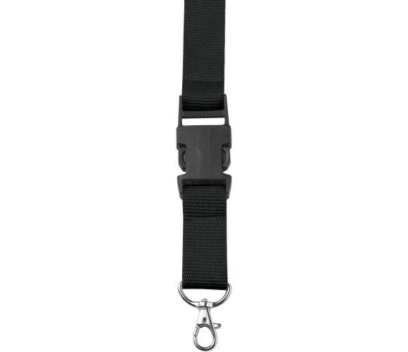 196561-Premiumtex Lanyards schwarz