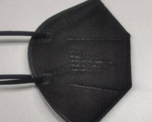 FFP2 Maske zertifiziert in schwarz