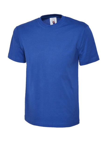 Klassisches Uneek T-Shirt unisex blau
