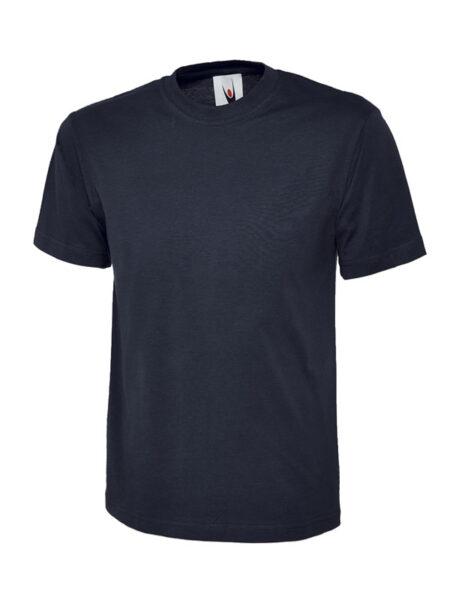 Klassisches Uneek T-Shirt unisex marineblau