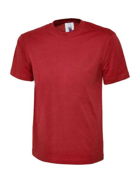 Klassisches Uneek T-Shirt unisex rot