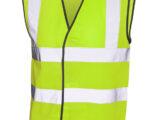 Warnweste Signalweste als Arbeitskleidung