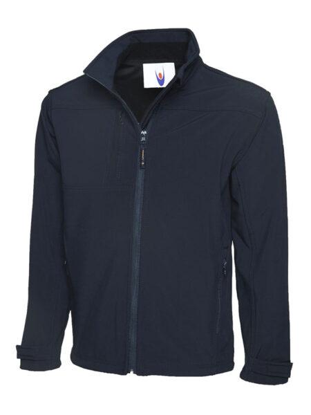 Premium Softshell Jacke marineblau