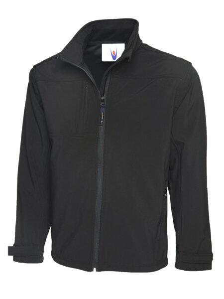 Premium Softshell Jacke schwarz