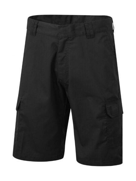 Arbeitshose Shorts Cargo schwarz