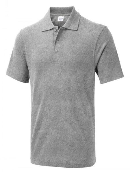 Poloshirt Workwear Economic hellgrau meliert