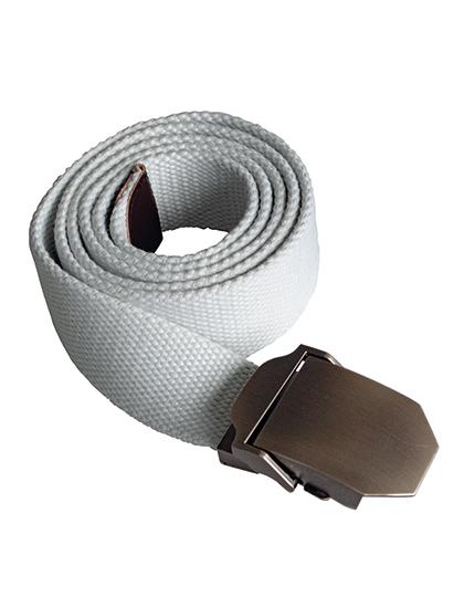Textiler Gürtel weiß