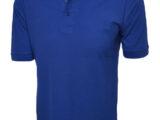 Poloshirt 100% Baumwolle gerader Schnitt