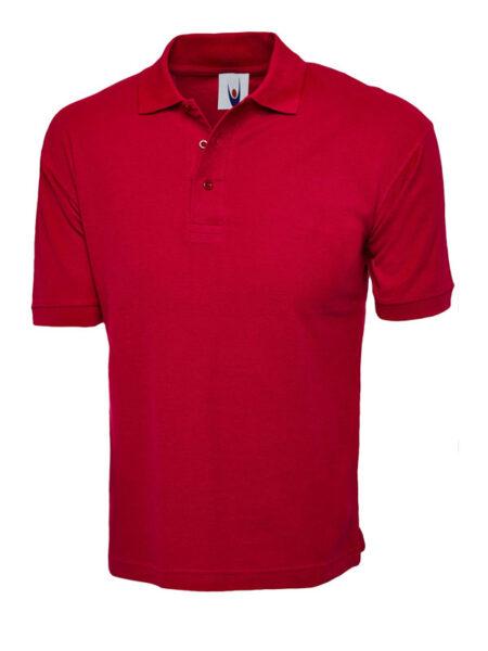 Poloshirt Premiumtex 100% Baumwolle rot