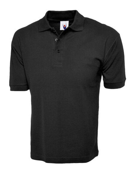 Poloshirt Premiumtex 100% Baumwolle schwarz