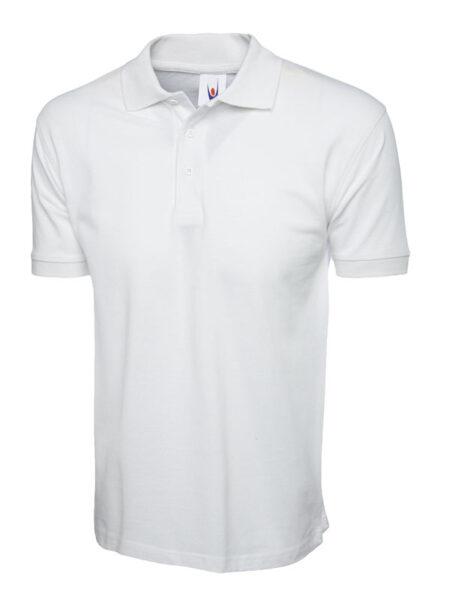 Poloshirt Premiumtex 100% Baumwolle weiss