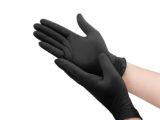 Premiumtex Nitril Einweghandschuhe in schwarz 100 Stk.
