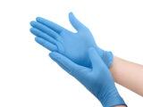 Premiumtex Nitril Einweghandschuhe in blau 100 Stk.