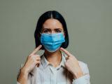 Medizinische Mundnasenmasken gegen Grippeviren